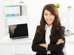 Priority Banker Girl Office 3 238x178