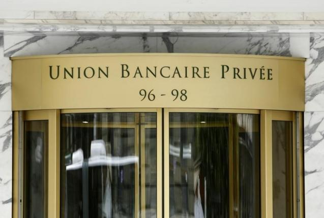 The building of the Union Bancaire Privee is pictured in Geneva