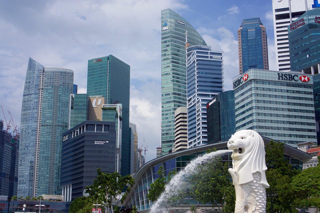 Singapore Financial District 2016 Dec 1