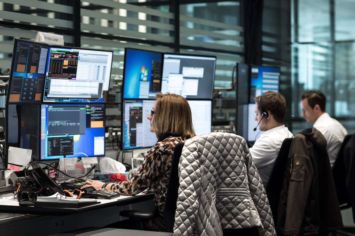 Deutsche Bank Trading Floor 3
