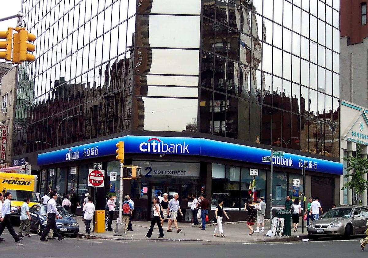 Citibank Chinatown New York United States