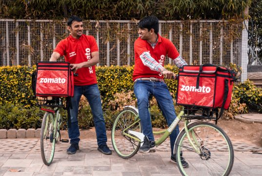 Zomato Delivery Partners 537x360