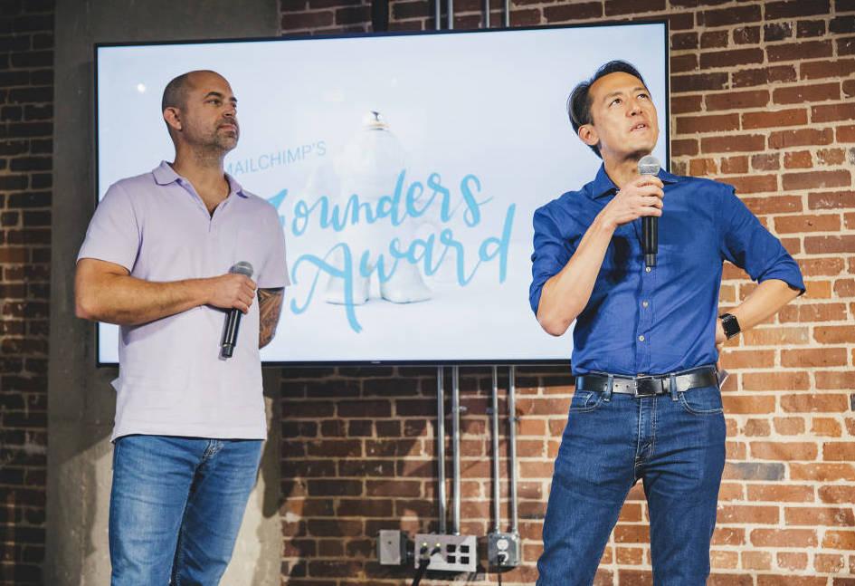 MailChimp Founders Ben Chestnut Dan Kurzius